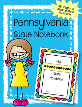 Pennsylvania State Notebook. US History and Geography
