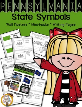 Pennsylvania State Symbols Notebook