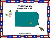 Pennsylvania State interactive book grades pre-k  second: