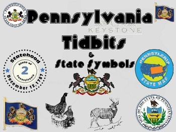 Pennsylvania Tidbits and State Symbols