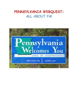 Pennsylvania Webquest With Answer Key