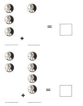 Penny Addition Math