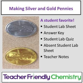Chemistry Lab: Penny Alloy -Making Silver and Gold Pennies!