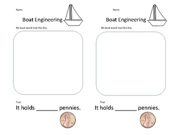 Penny Boat Engineering half-sheet