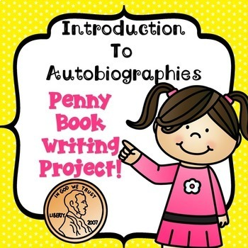 Penny Book Writing Project! Easy-to-do-Autobiographies!