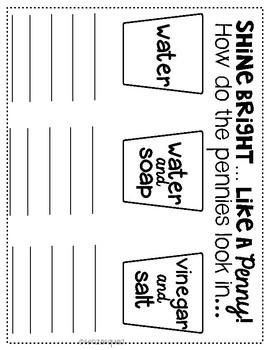 Penny Data Recording Sheet
