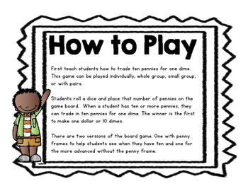 Penny Dime Trading Game