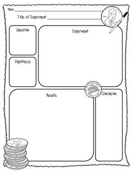 {FREEBIE} Penny Lab Sheet (1 Page) {Scientific Method Lab Sheet}