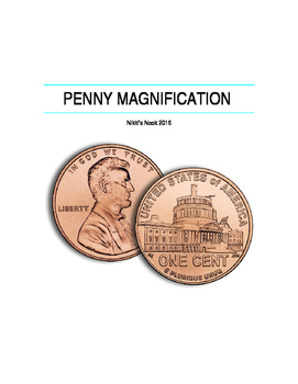 Penny Magnification- Science Skills