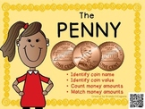Penny - Math Money Center, Money Unit, Summer Packet