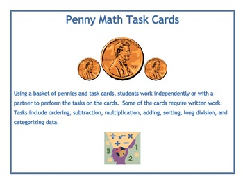 Penny Math Task Activity