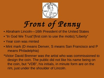 Penny Money PowerPoint