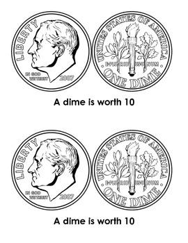 Penny Nickel Dime Quarter Mini Reader