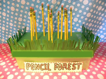 PREPRINTED! Penny Pencil & Classroom Community/Conservation & Pencil Care