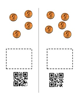 Penny Practice with QR Codes