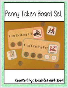 Penny Token Board Set