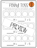 Penny Toss- Decomposing Numbers