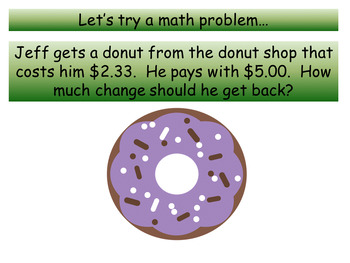 Penny Trick for Making Change with a Flat Dollar Amount PowerPoint Presentation