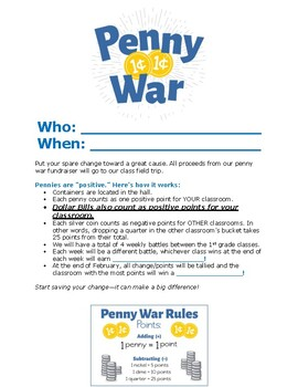 Penny Wars Rules