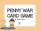 Penny War - a counting money card game