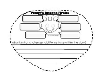 Penny and Her Marble Craft (Character Traits) W/Comprehension Questions
