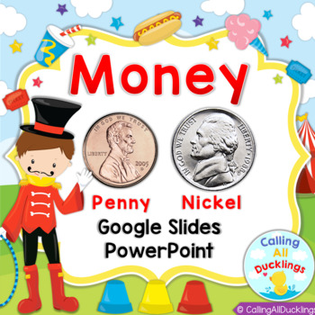 Penny and Nickel PowerPoint and Smartboard