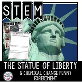 The Statue of Liberty STEM Challenge and Chemical Change Experiment