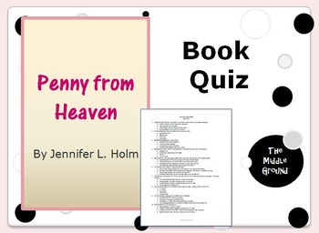 Penny from Heaven by Jennifer L. Holm Book Quiz / Book Test