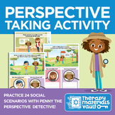 Perspective-Taking Activity: Featuring Penny the Perspective Detective