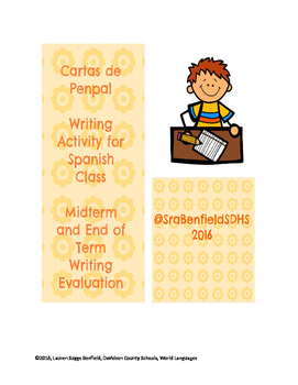 Penpal Writing Evaluation for Spanish