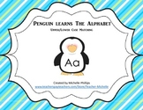 Penguin Learns The Aphabet! - Upper/Lower Case Matching