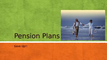 Pension Plan / Retirement Powerpoint