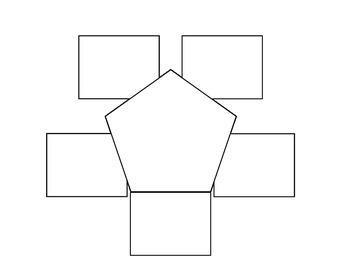 Pentagon Foldable Template