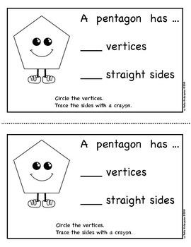 Pentagons (Emergent Reader)