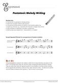 Pentatonic Melody Writing
