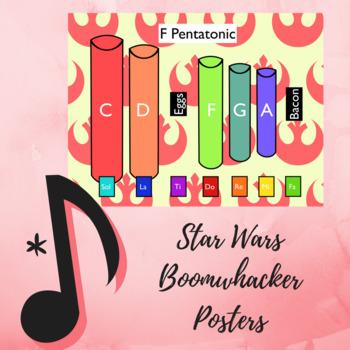 "Pentatonic Posters Using Boomwhackers - ""Star Wars"""