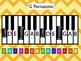 Pentatonic Scales Keyboards - Chevron