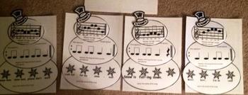 Pentatonic Snowmen Activity