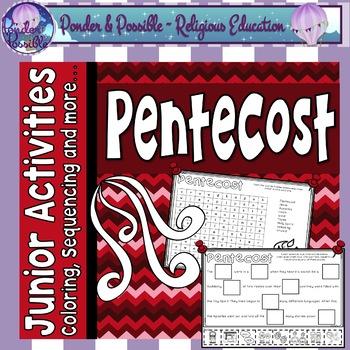 Pentecost Worksheets Teachers Pay Teachers