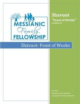 Pentecost (Shavuot) The Feast of Weeks