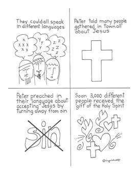 Catholic Pentecost - the Birthday of the Church - booklet