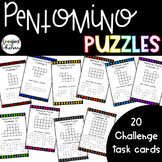 Pentomino Challenge Task Cards