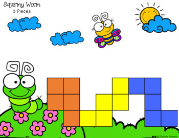 Pentomino Picture Puzzles {25 Puzzles in color and b&w, with answer keys!}