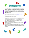 Pentomino Puzzles - A Fun Way to Develop Spatial Skills!