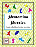 Pentomino Puzzles - Logic & Problem Solving Activities