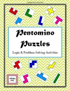 Pentomino Puzzles - Logic & Problem Solving Activities