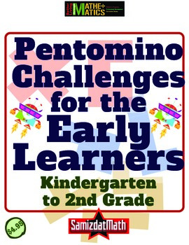 Pentomino Puzzles for Kindergarten to 2nd Grade: Geometry & Problem Solving