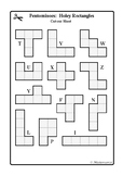 Pentominoes: Holey Rectangles