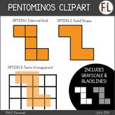 Pentominos Clipart