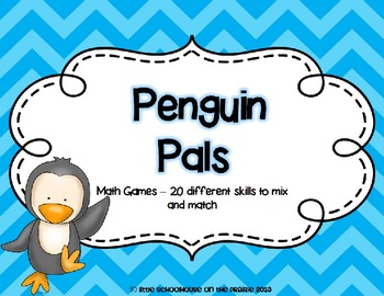 Penguin Pals - Math Games - 20 different skills